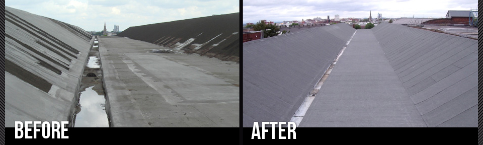 Flat Roof Hail Damage : Flat roofs storm industrial roofing